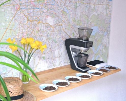moler el cafe en casa